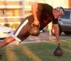 Mike Mahler kettlebell row