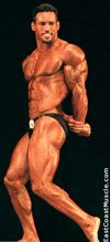 Tito Posing in Body Building Competition