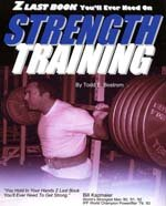 """Z Last Book You'll Ever Need on Strength Training"" cover"